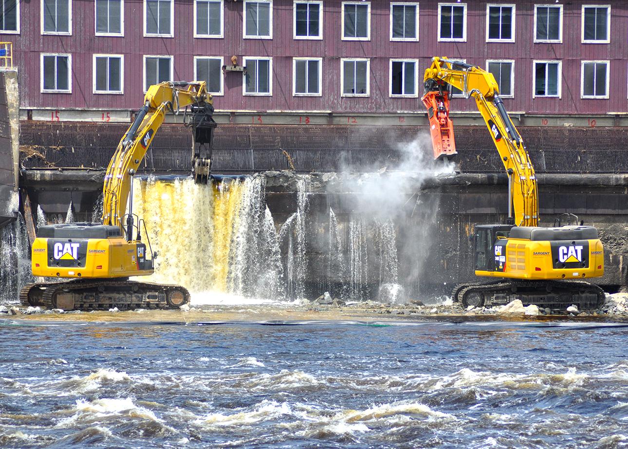 Milestone Removal of Maine's Veazie Dam