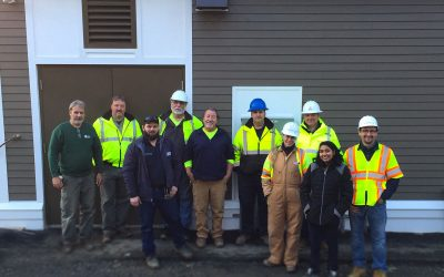 Wellfield Pump Station Completion is Celebrated in New Fairfield