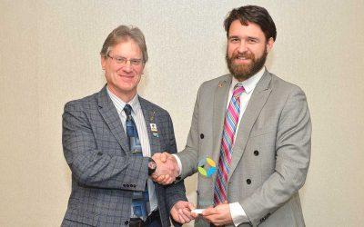 Wright-Pierce's Michael Guethle NEWEA Award Recipient